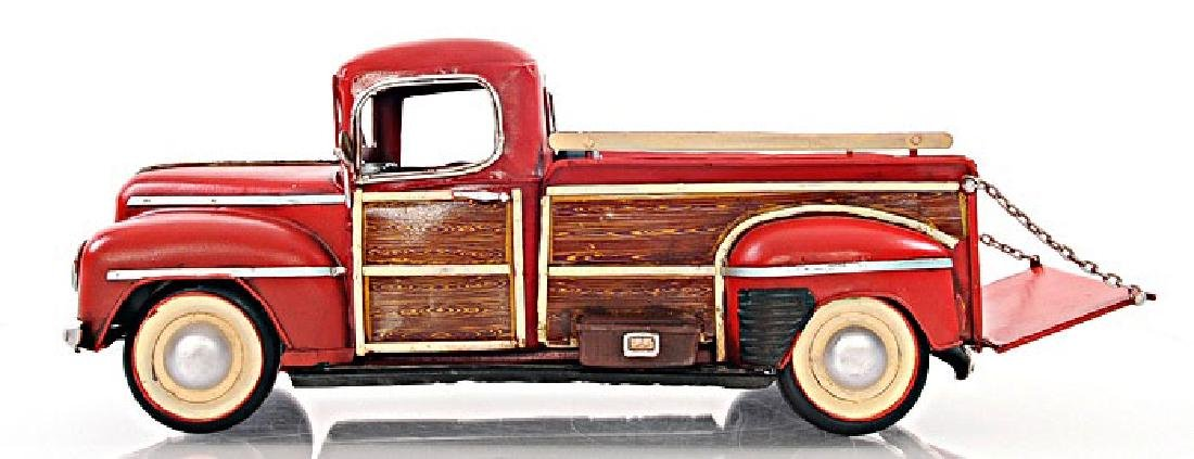 HAND MADE 1942 FORD PICKUP 1:12TH SCALE REPLICA