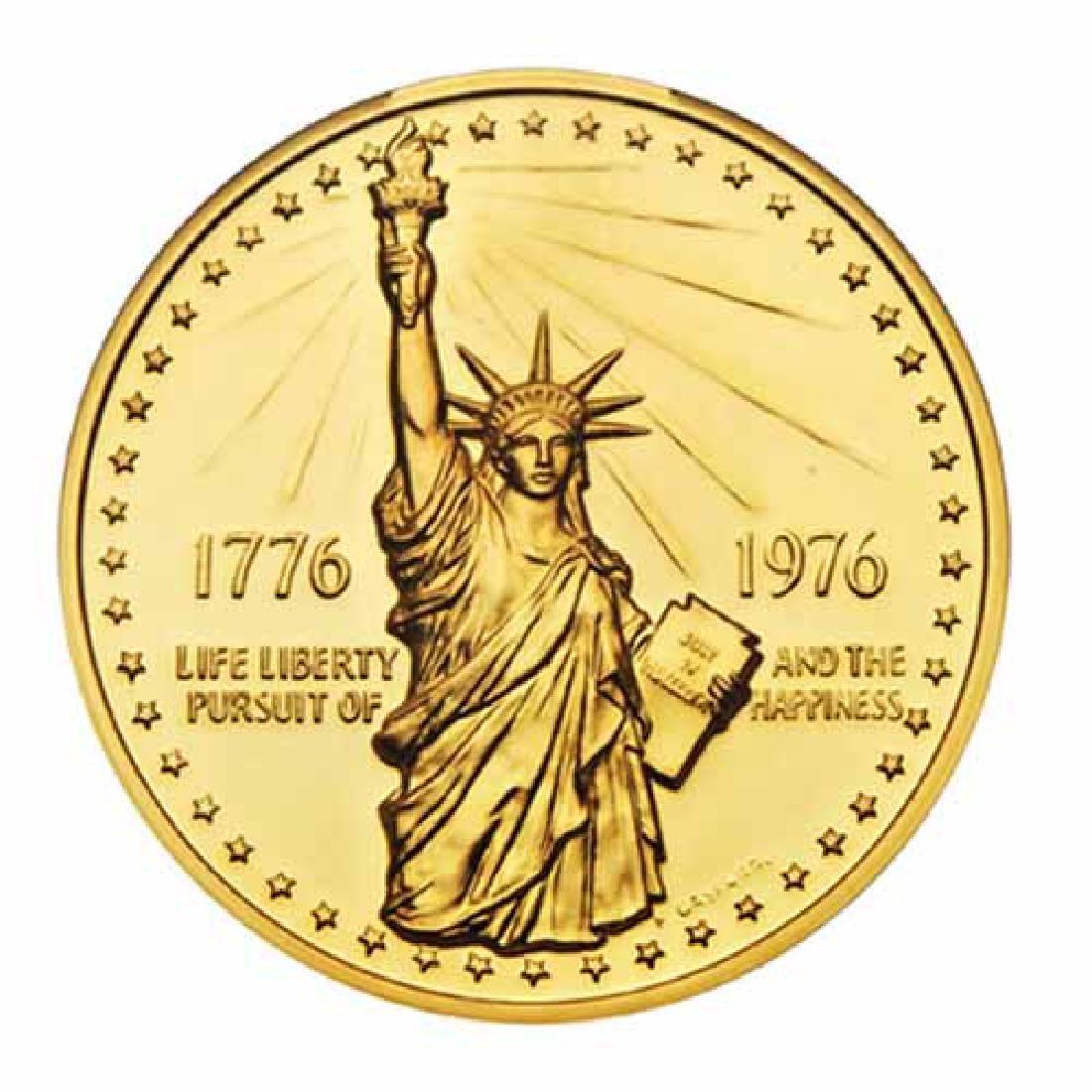 1976 Bicentennial gold Medal 12.8g. PF