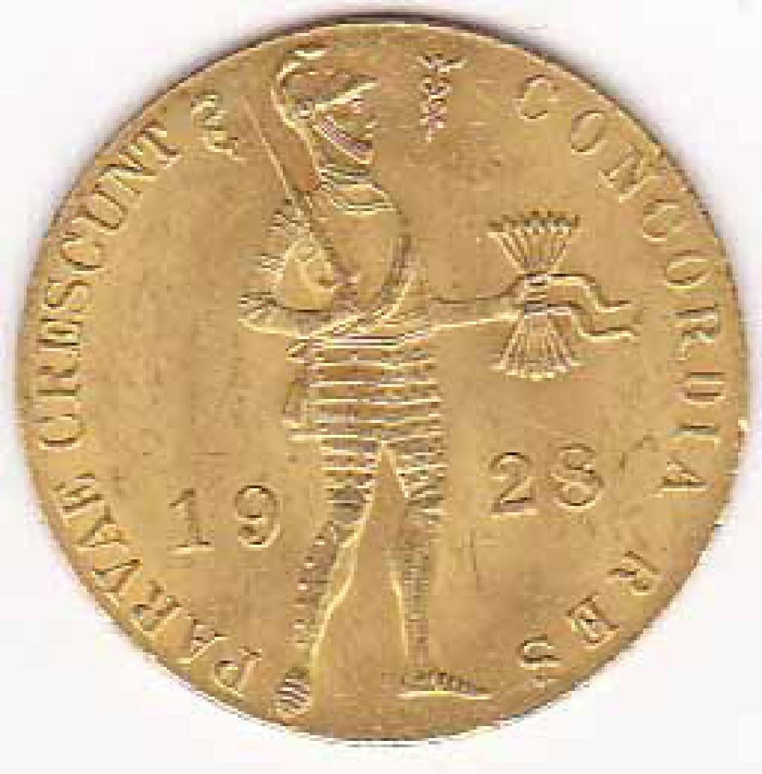 Netherlands 1 ducat gold 1901-1937