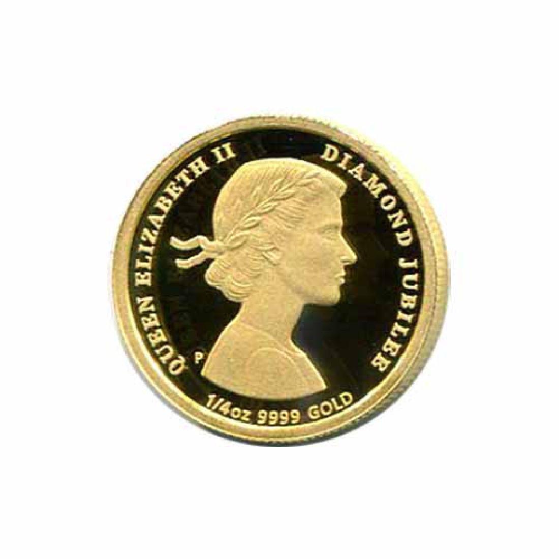 Australia $25 Gold PF 2012 Diamond Jubilee