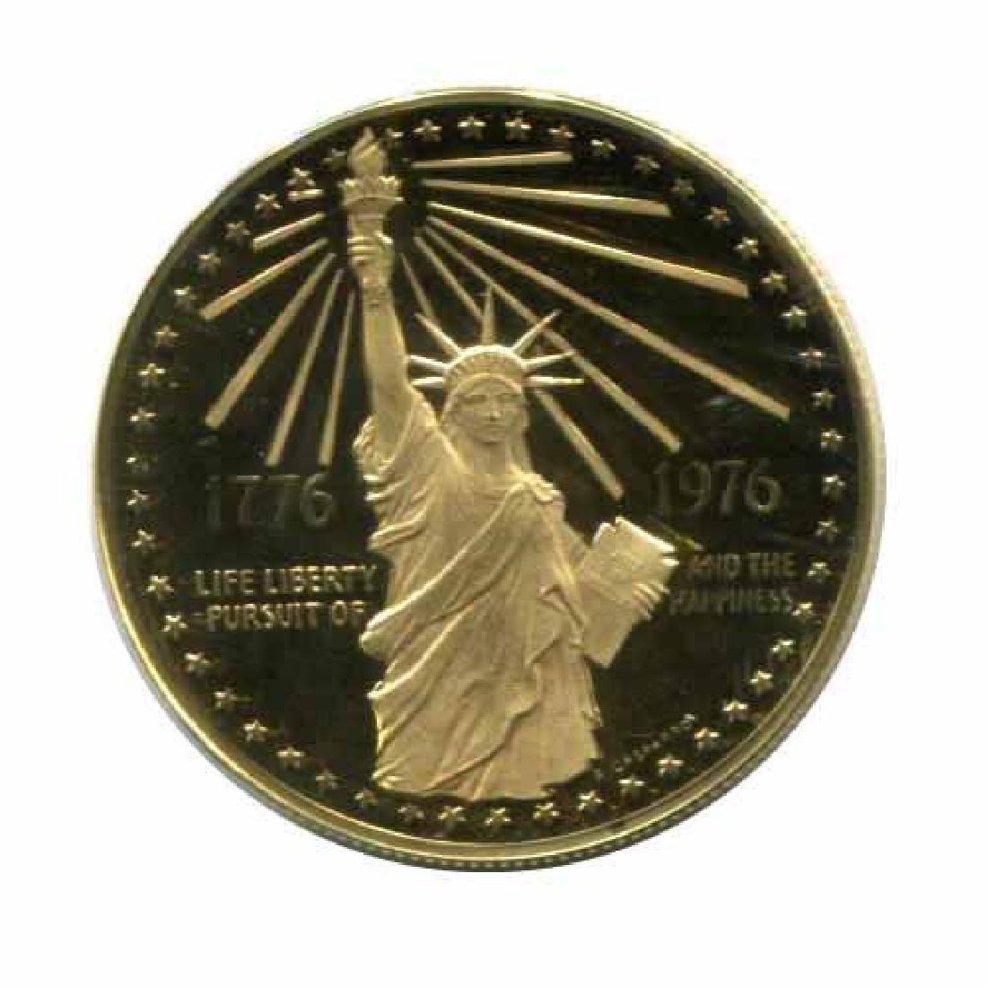 1976 Bicentennial gold Medal 40.1g. PF
