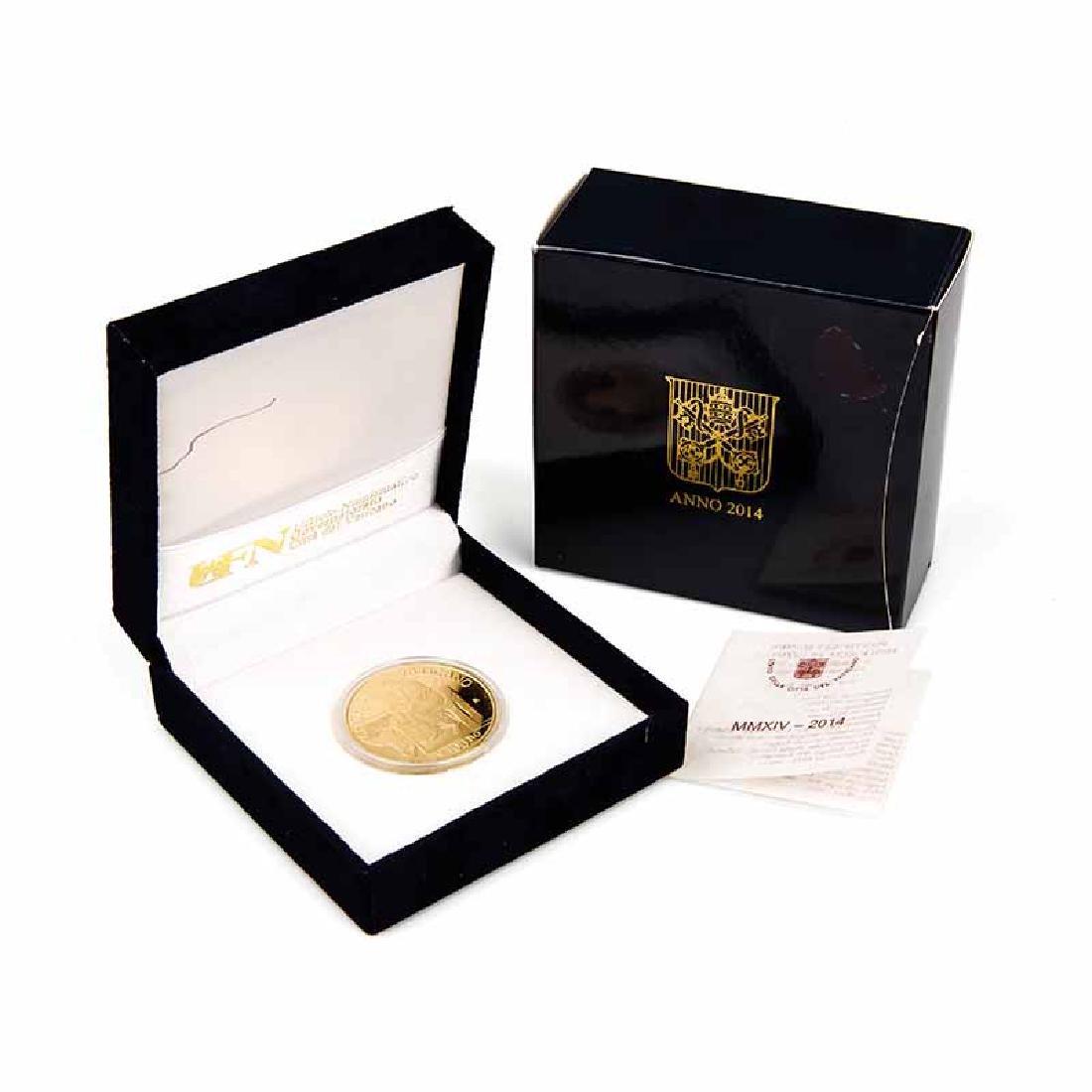 Vatican City 2014 100 Euro Gold Coin