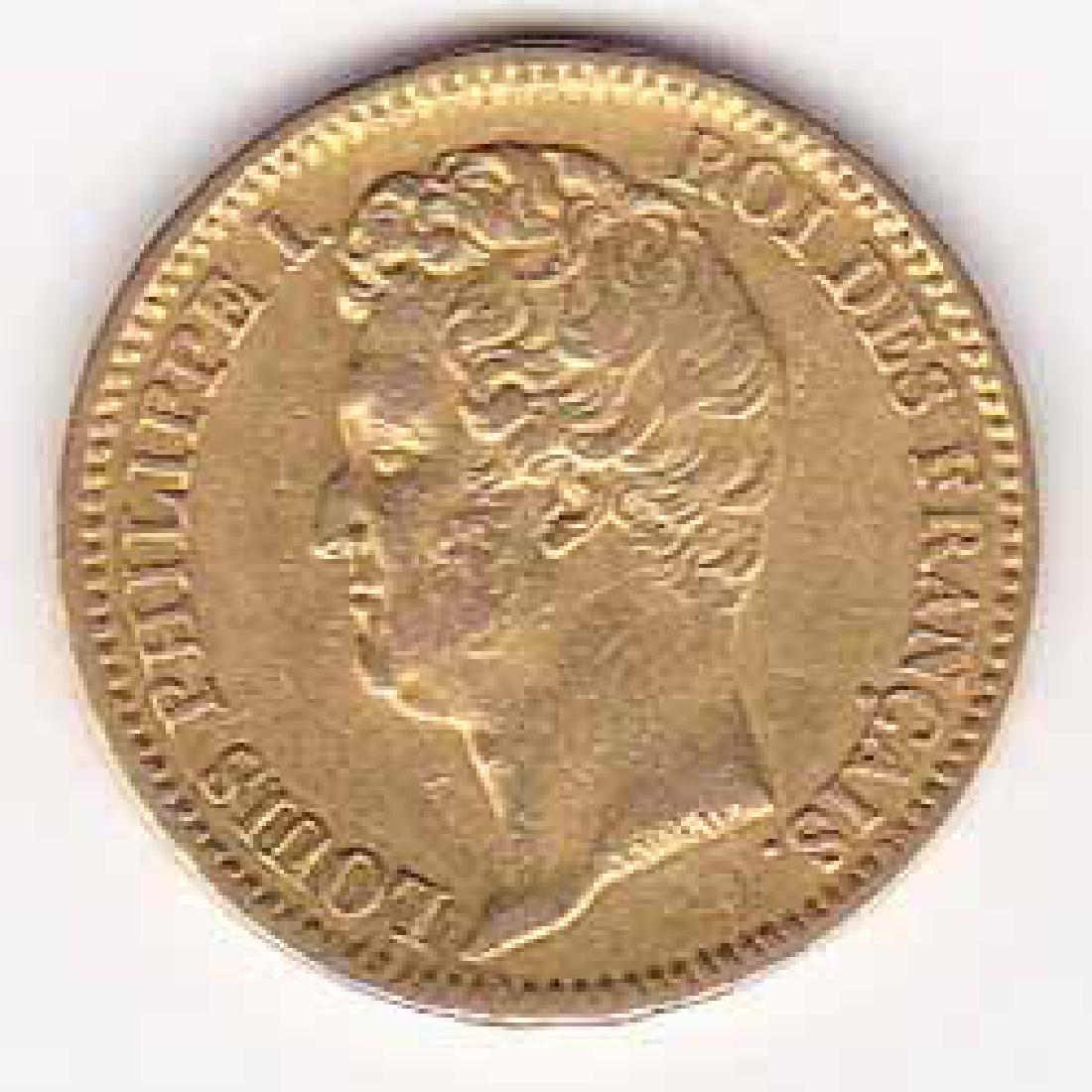 France 20 francs gold 1830-31 Philippe I