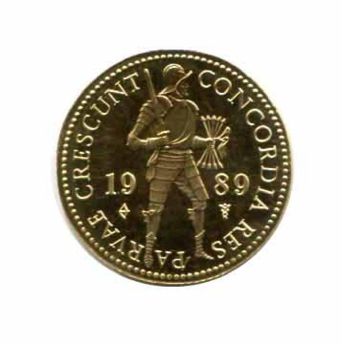 Netherlands 1 ducat gold Proof 1985-date