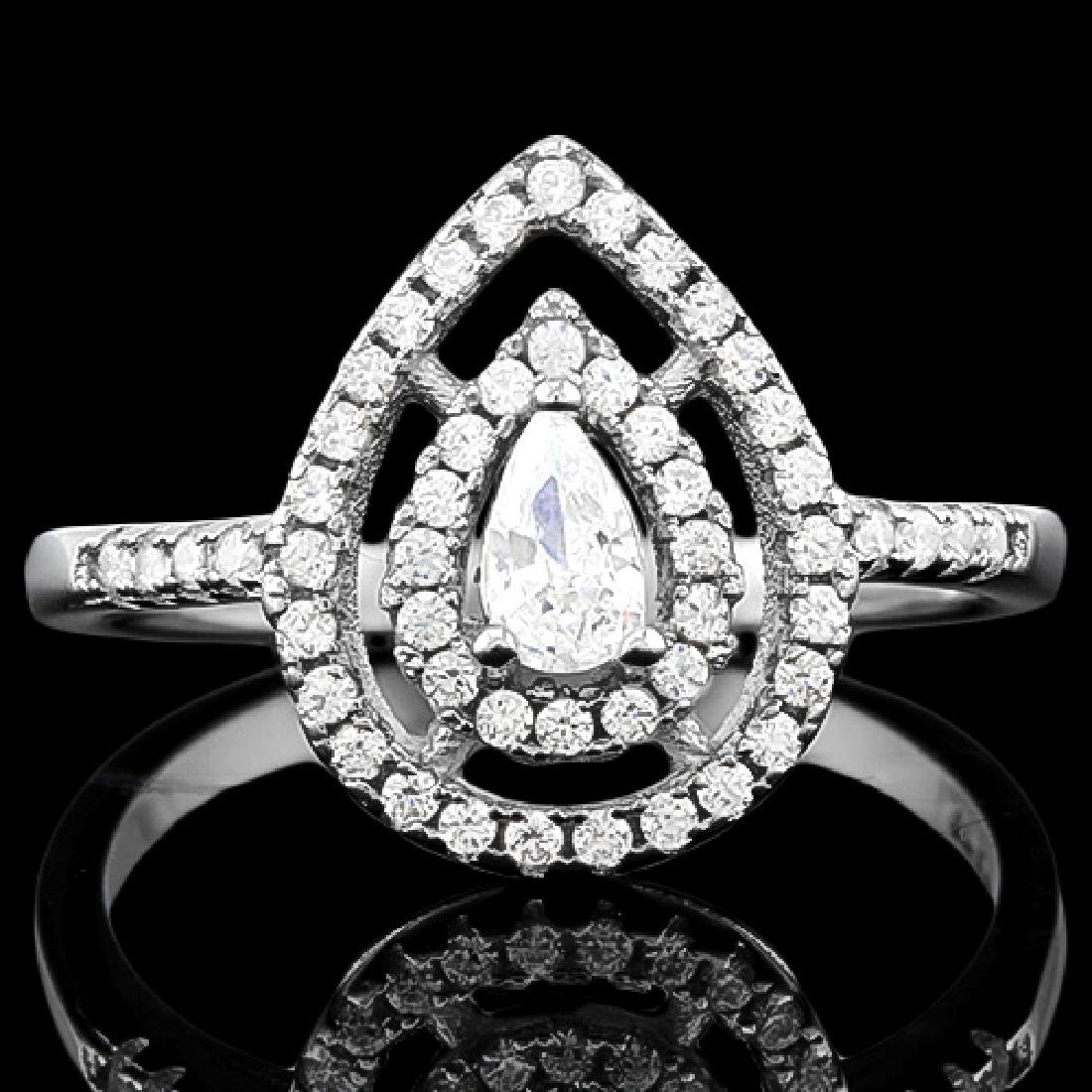 0.30 CT CREATED DIAMOND & 53PCS CREATED DIAMOND 925 STE