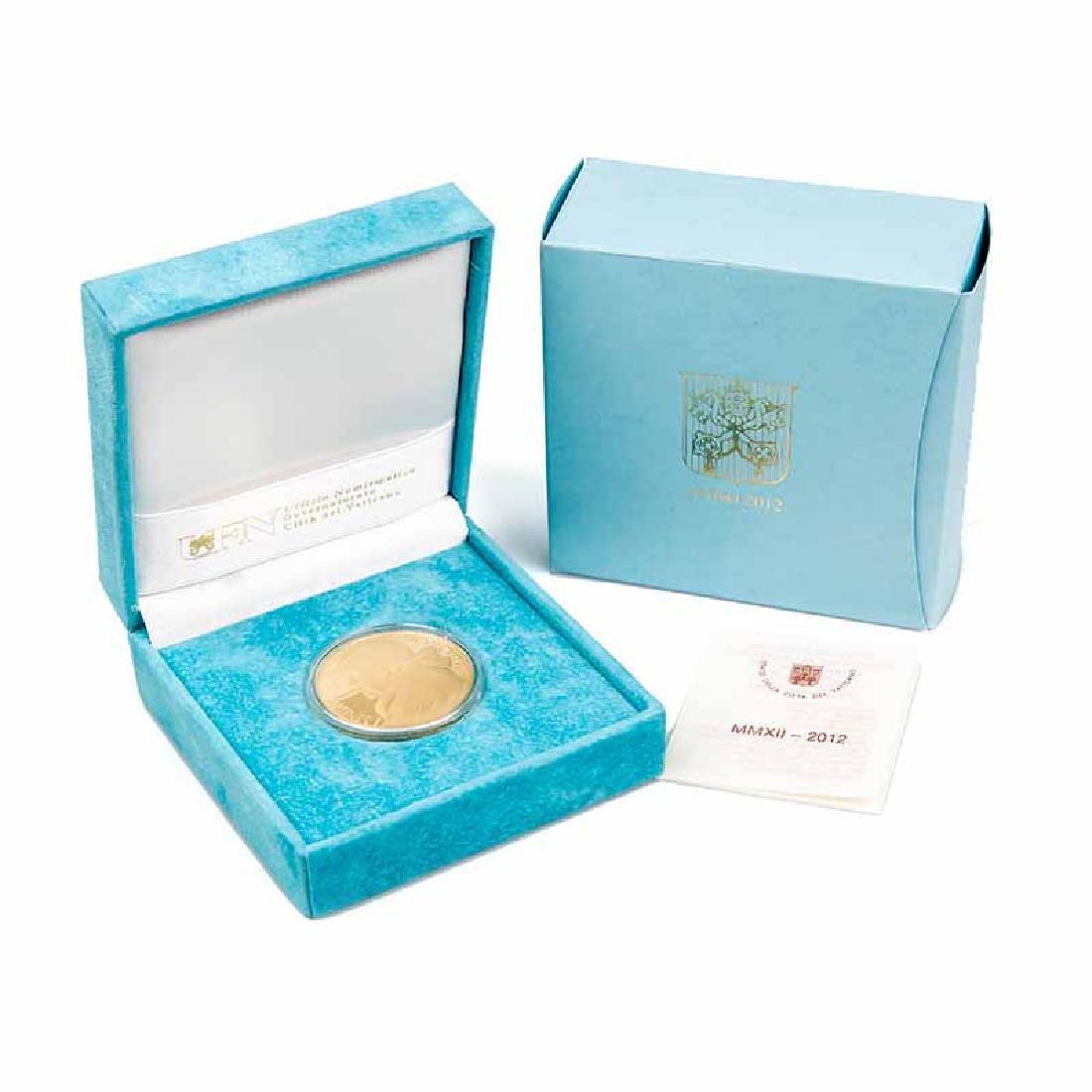 Vatican City 2012 100 Euro Gold Coin