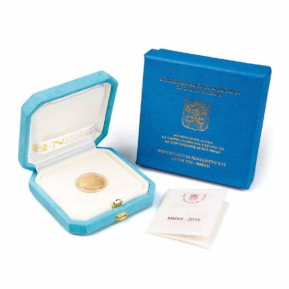 Vatican City 2012 20 Euro Gold Coin