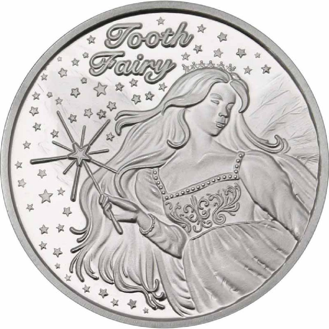 Tooth Fairy .999 Silver 1 oz Round