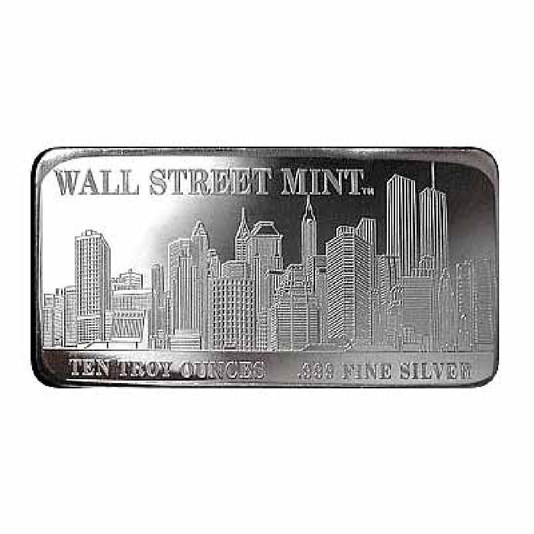 Wall Street Mint Silver Bar 10 oz