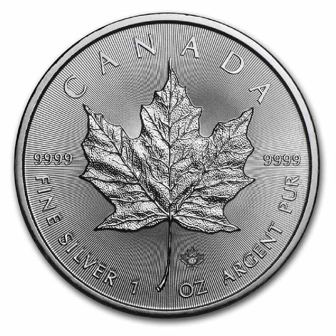 2017 Silver Maple Leaf 1 oz Uncirculated
