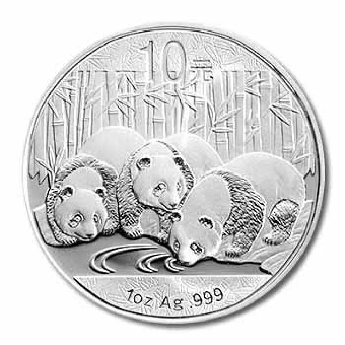 2013 Chinese Silver Panda 1 oz