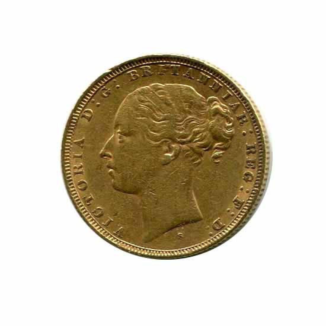 Australia gold sovereign 1881S XF