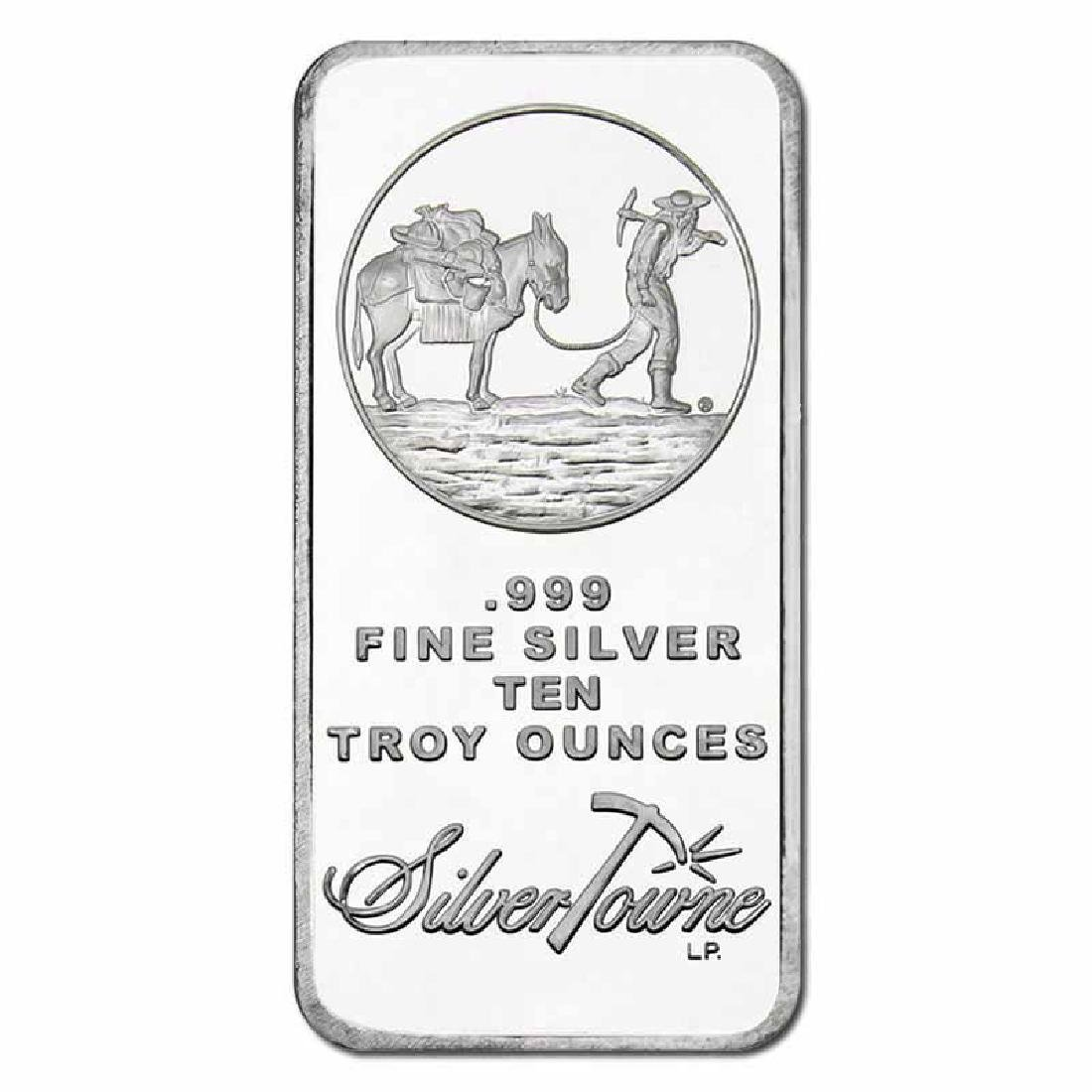 Random Manufacturer Silver Bar 10 oz