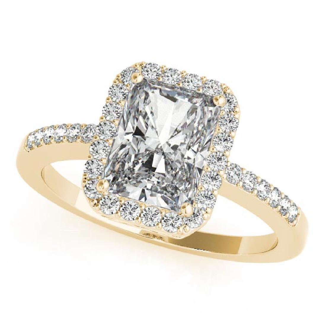 CERTIFIED 18KT WHITE GOLD 1.00 CT G-H/VS-SI1 DIAMOND HA