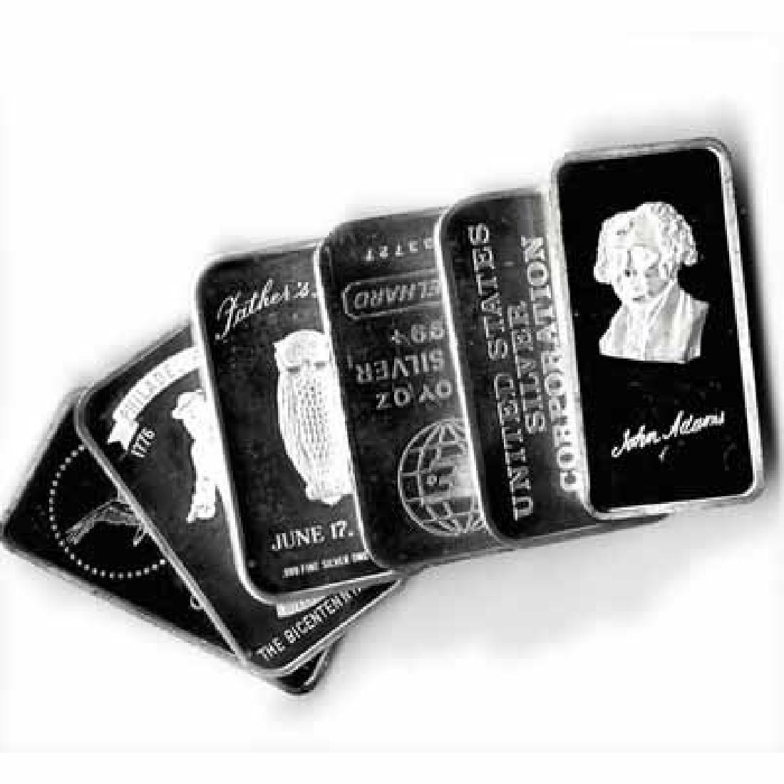 Random Manufacturer Silver Bar 1 oz