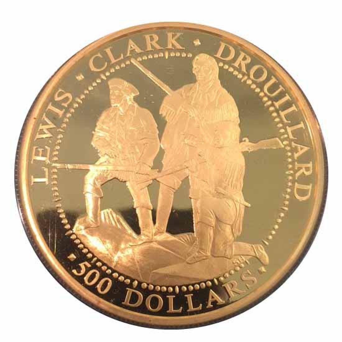Shawnee Nation $300 Gold Proof 2003 Lewis & Clark