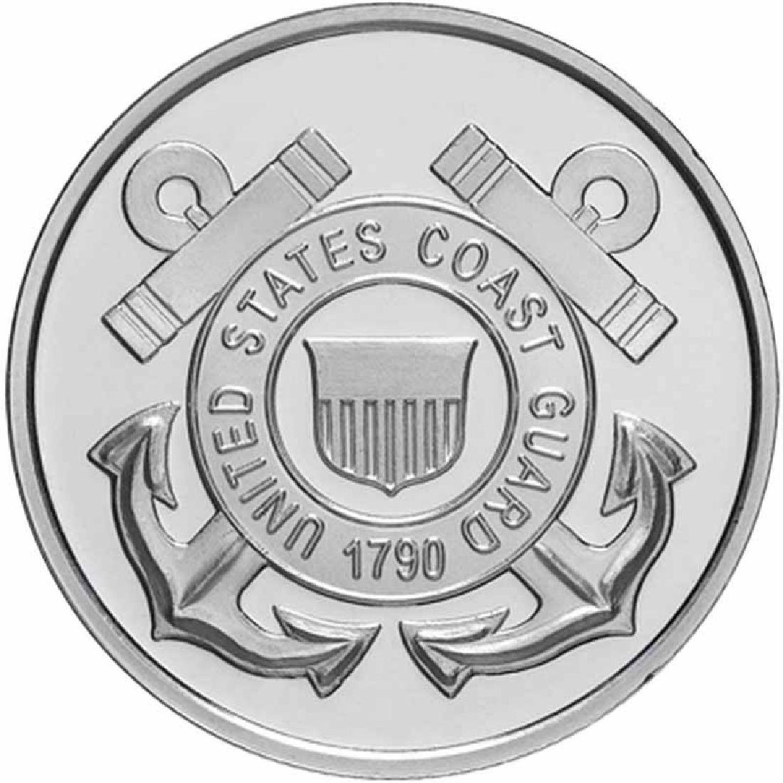 US Coast Guard .999 Silver 1 oz Round