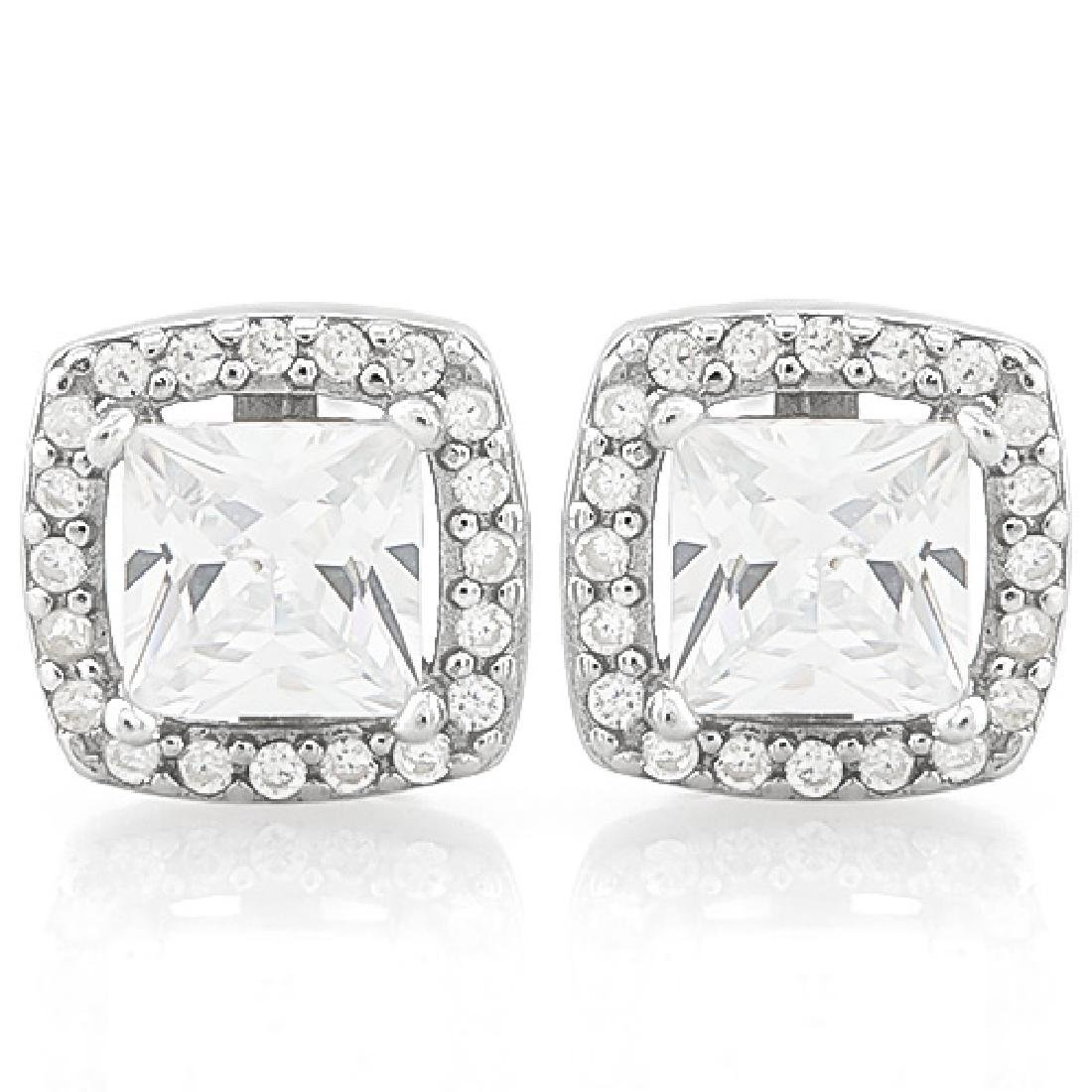 7 CARAT (42 PCS) FLAWLESS CREATED DIAMOND 925 STERLING