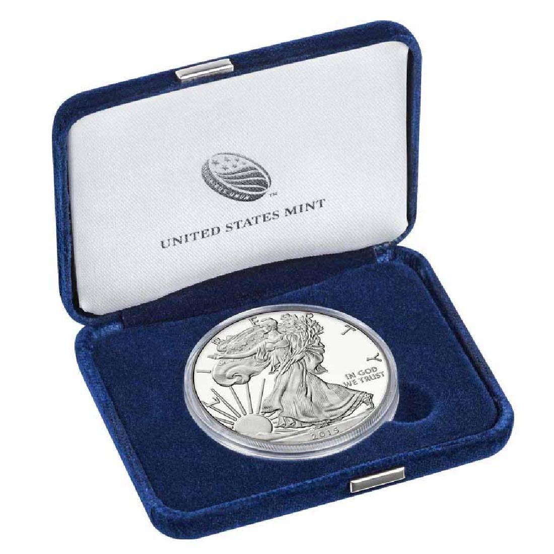 Proof Silver Eagle 2015-W