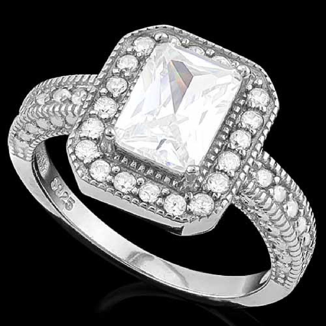 2 CARAT (35 PCS) FLAWLESS CREATED DIAMOND 925 STERLING