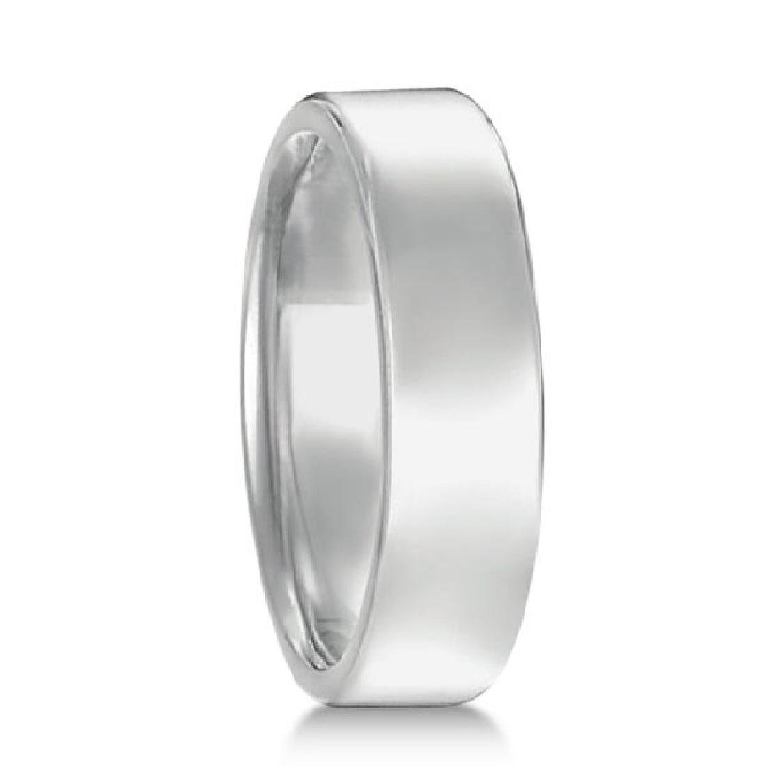 Euro Dome Comfort Fit Wedding Ring Mens Band in Pallad