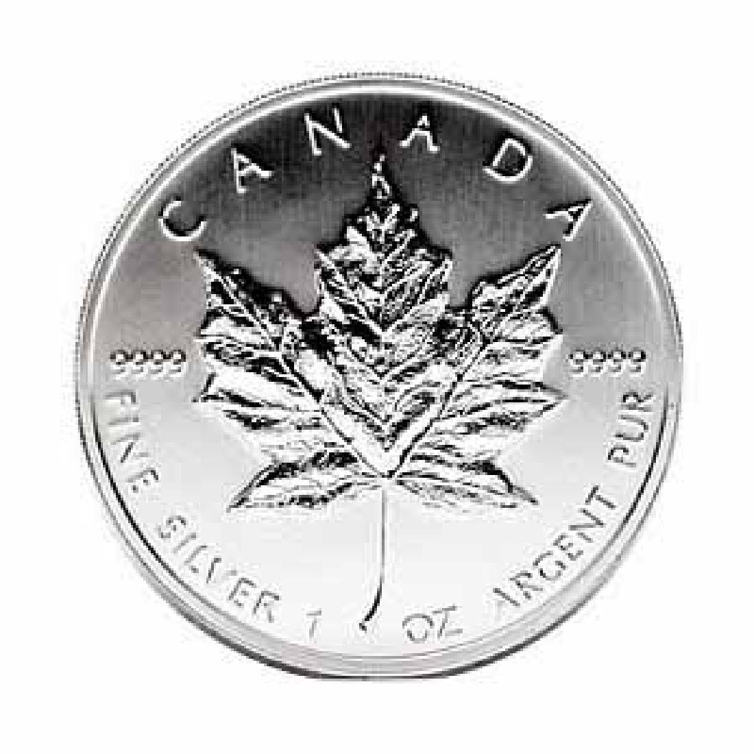 1989 Silver Maple Leaf 1 oz Uncirculated