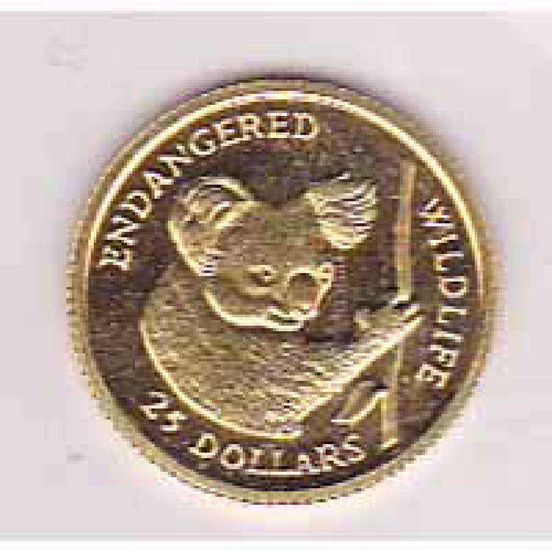 Cook Islands $25 gold 1991 Koala