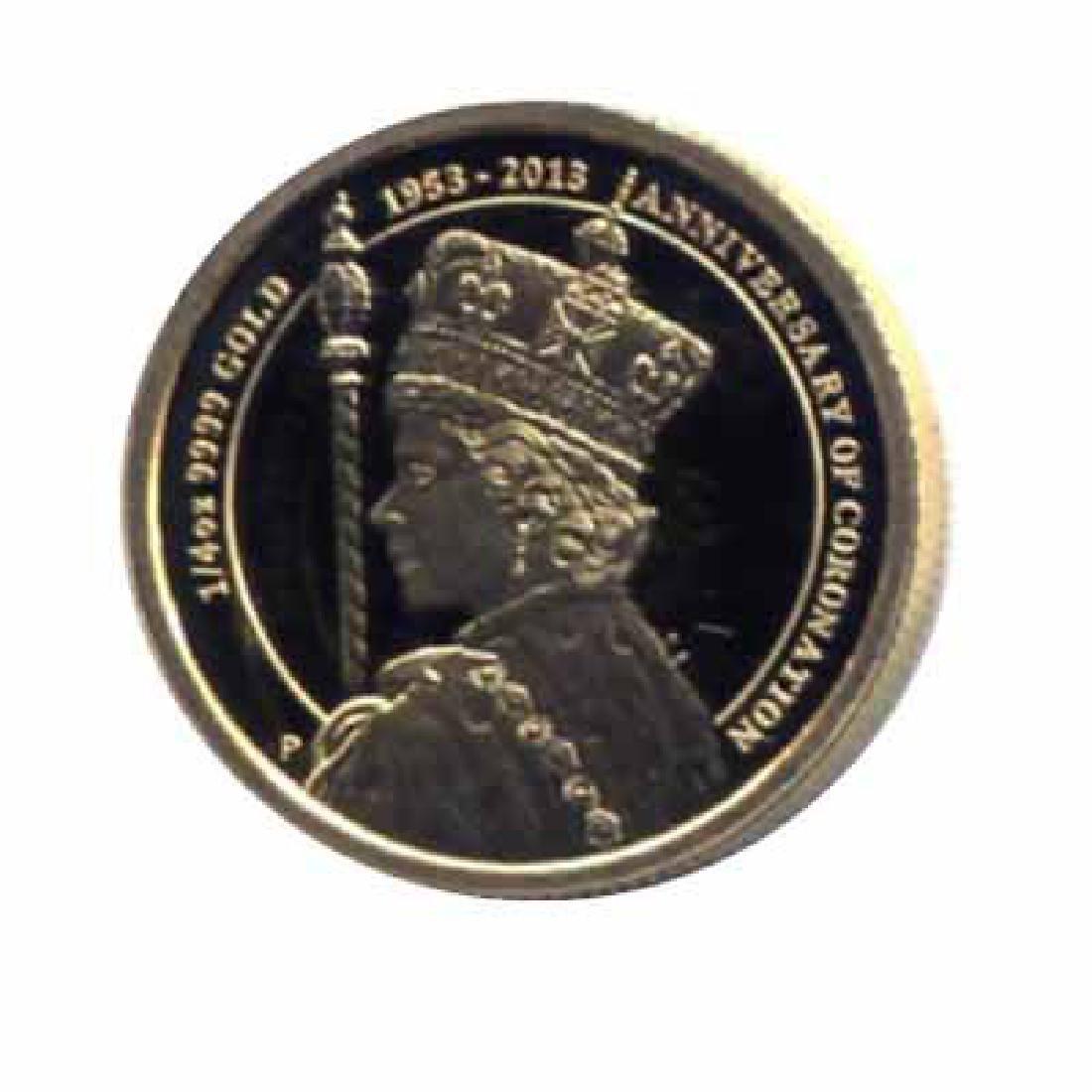 Australia $25 gold 2013 PF Coronation