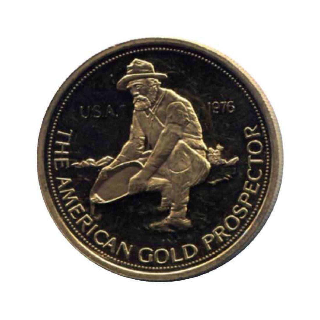 Engelhard 1 ounce gold round Prospector