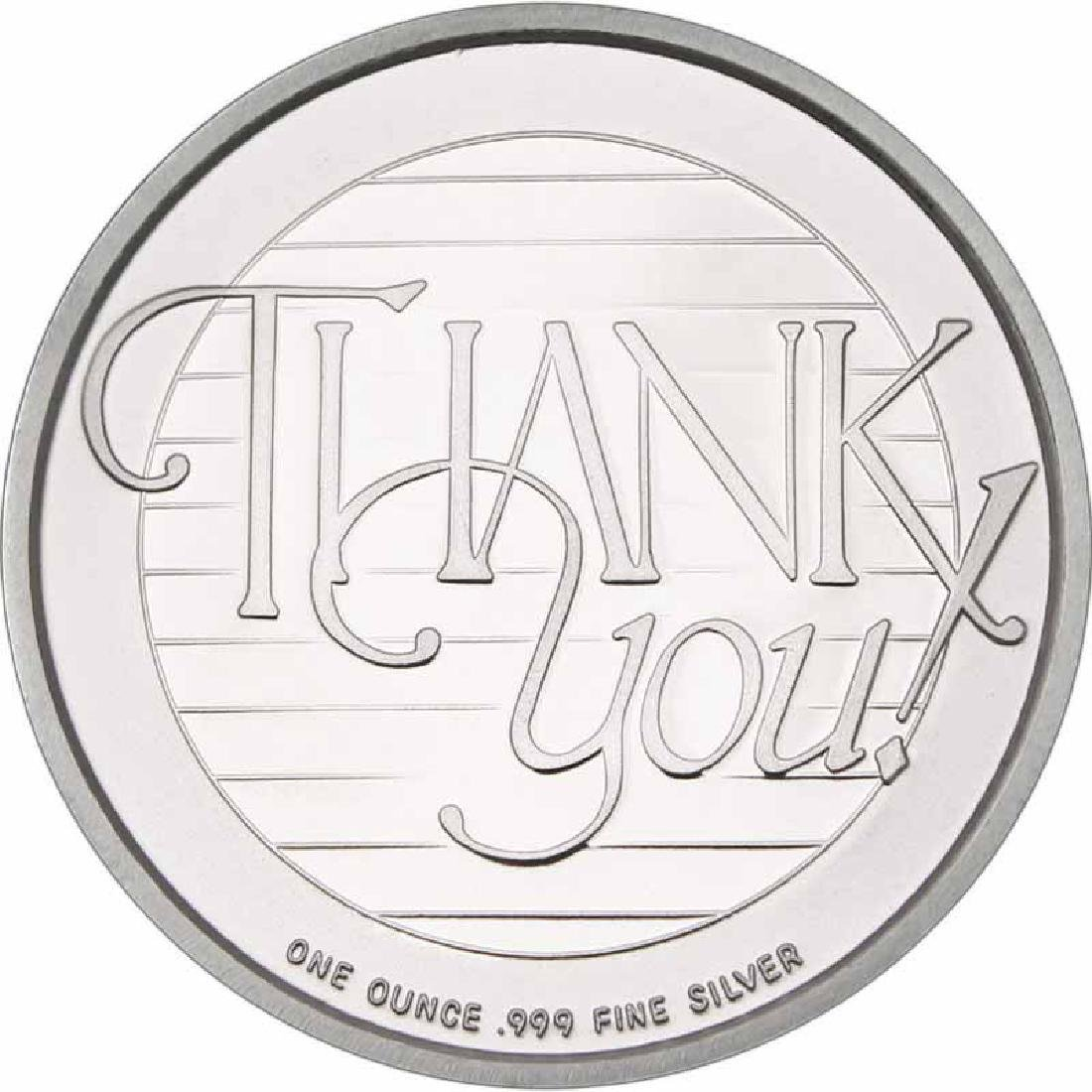 Thank You 2016 .999 Silver 1 oz Round