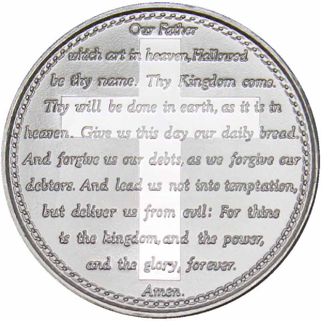 Lords Prayer .999 Silver 1 oz Round