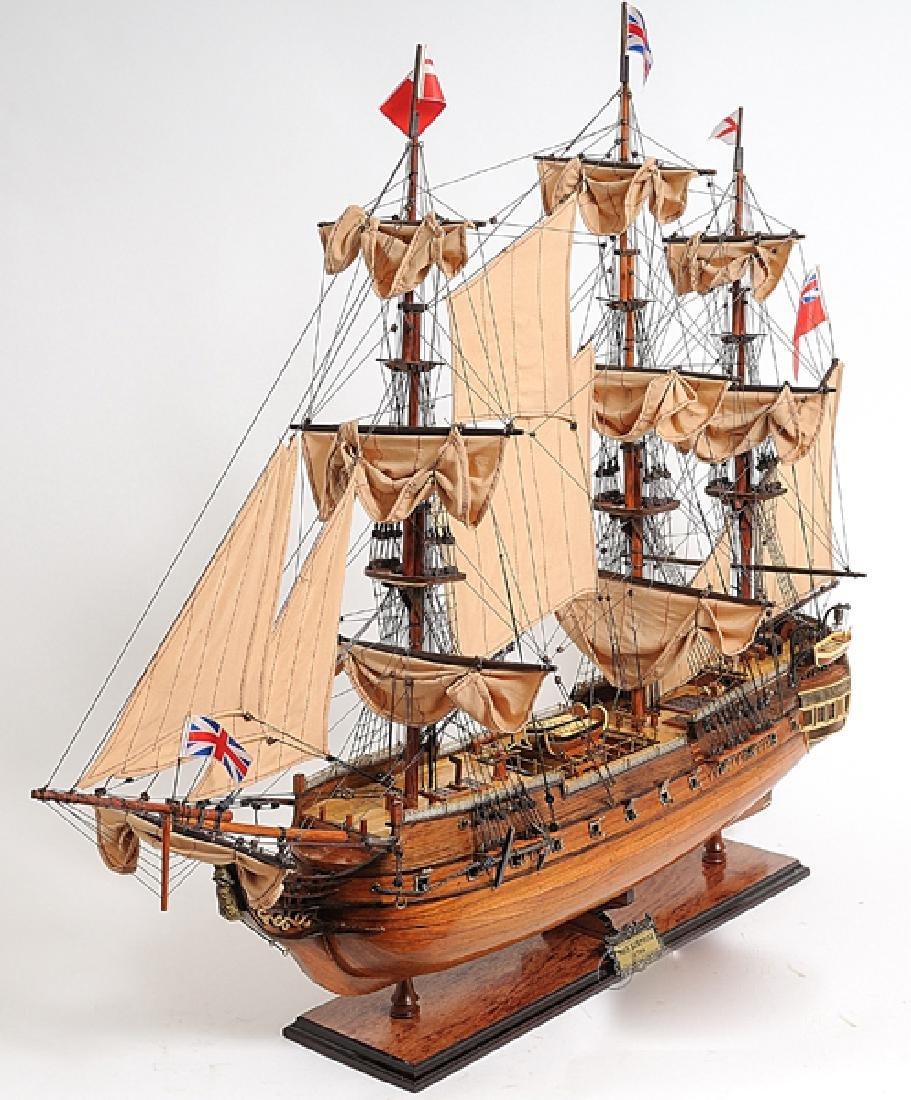 HAND MADE WOODEN HMS Surprise W/COA - 4
