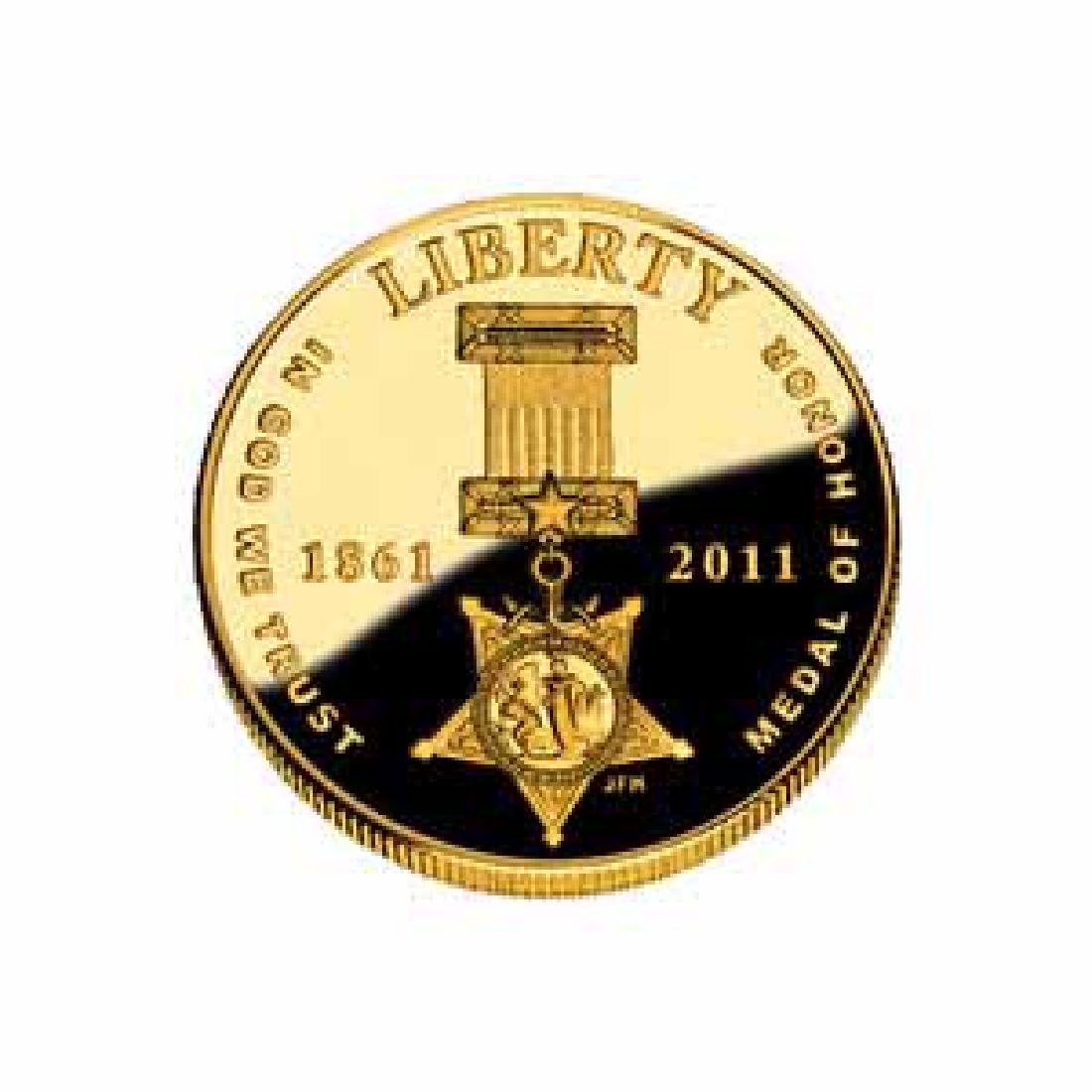 Gold $5 Commemorative 2011 Medal Of Honor Proof