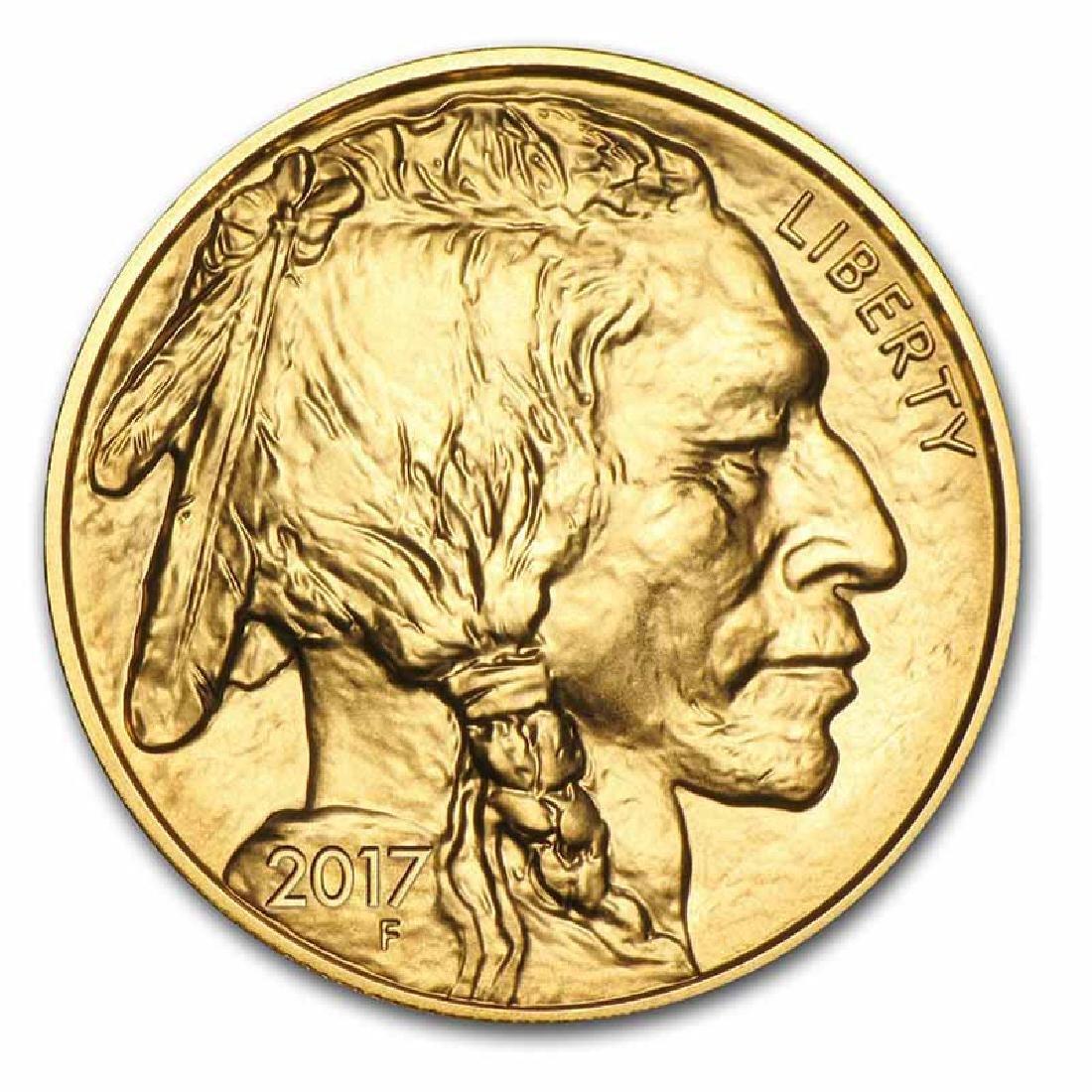 Uncirculated Gold Buffalo Coin One Ounce 2017