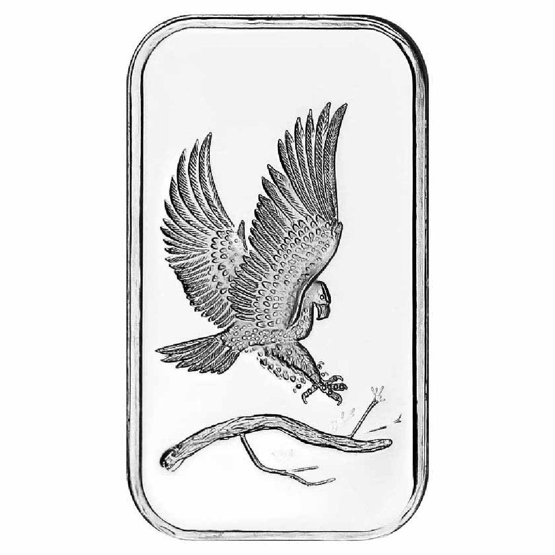 SilverTowne 1 oz Silver Bar - Eagle Design