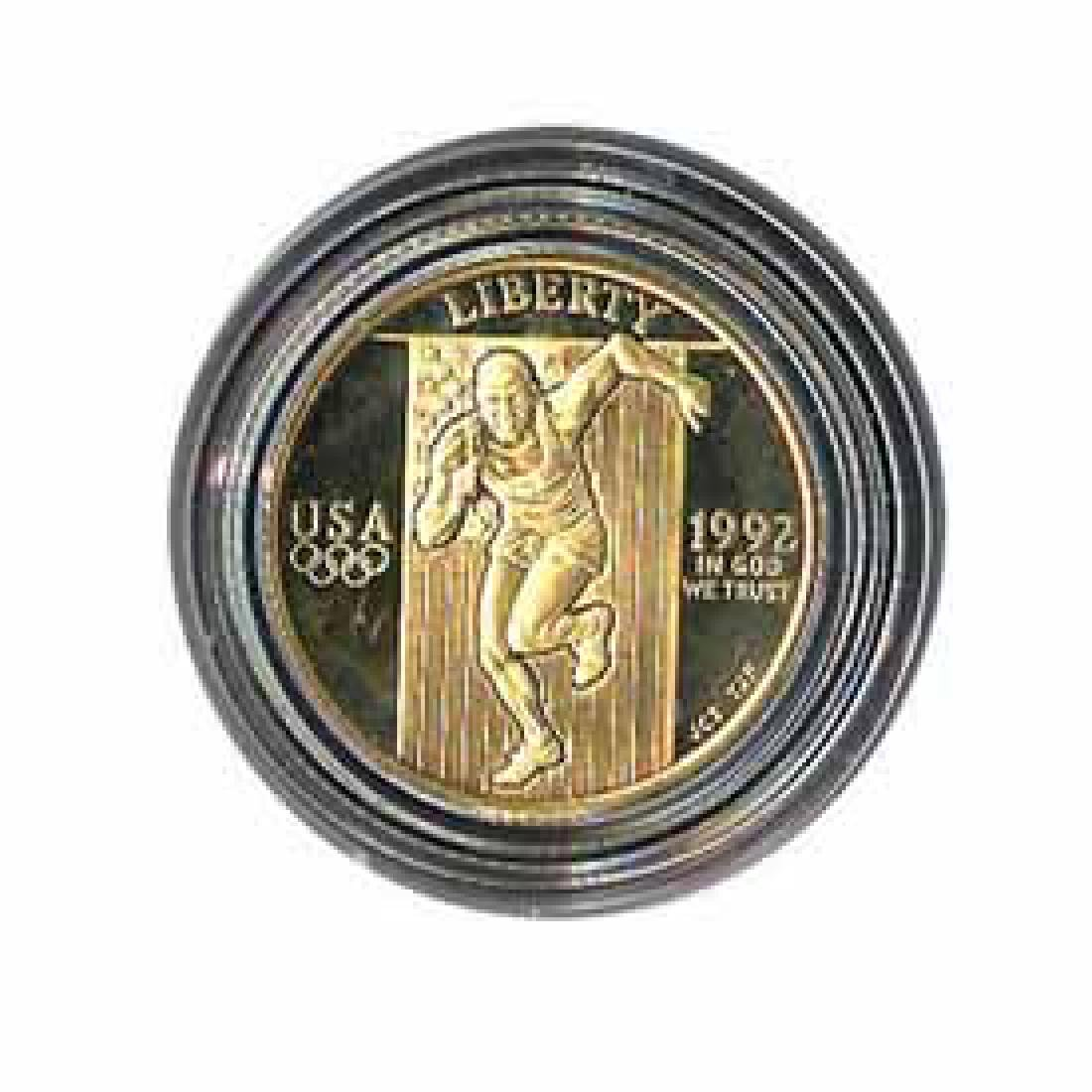 Gold $5 Commemorative 1992 Olympic Proof