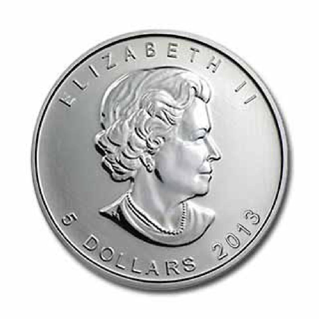 2013 Silver Maple Leaf 1 oz Uncirculated