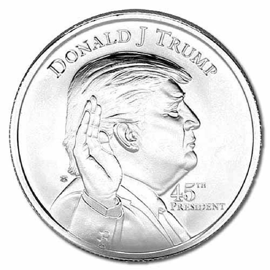 Donald Trump Silver Round 1 oz - Elemetal Mint