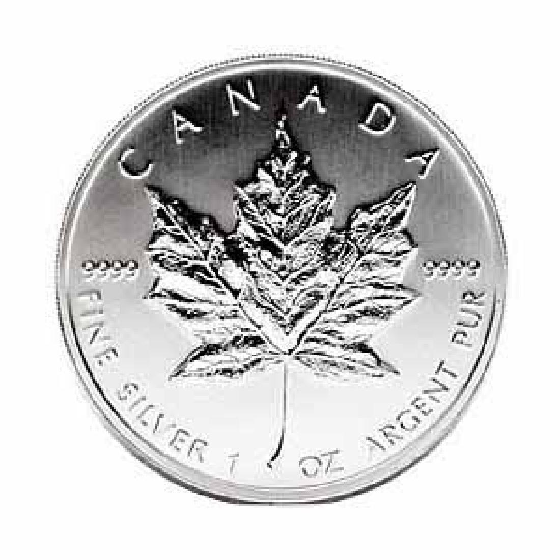 1991 Silver Maple Leaf 1 oz Uncirculated