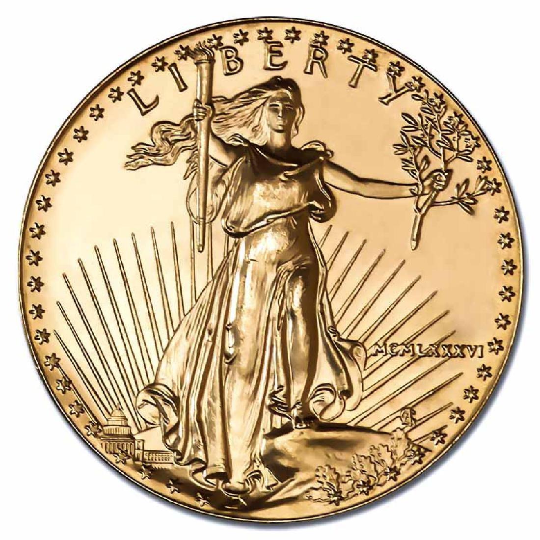 1986 American Gold Eagle 1 oz Uncirculated