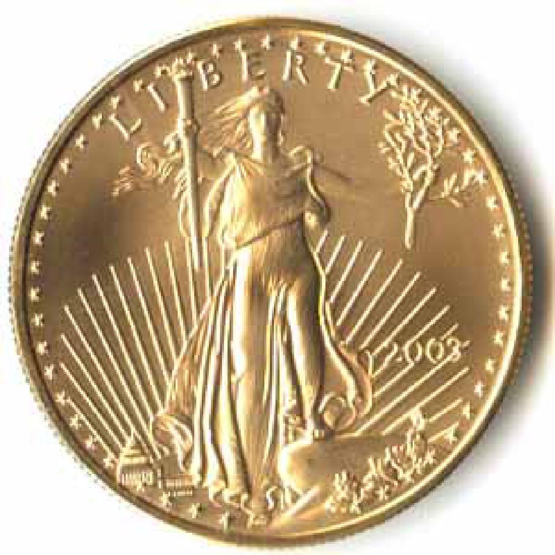 2003 American Gold Eagle 1oz Uncirculated