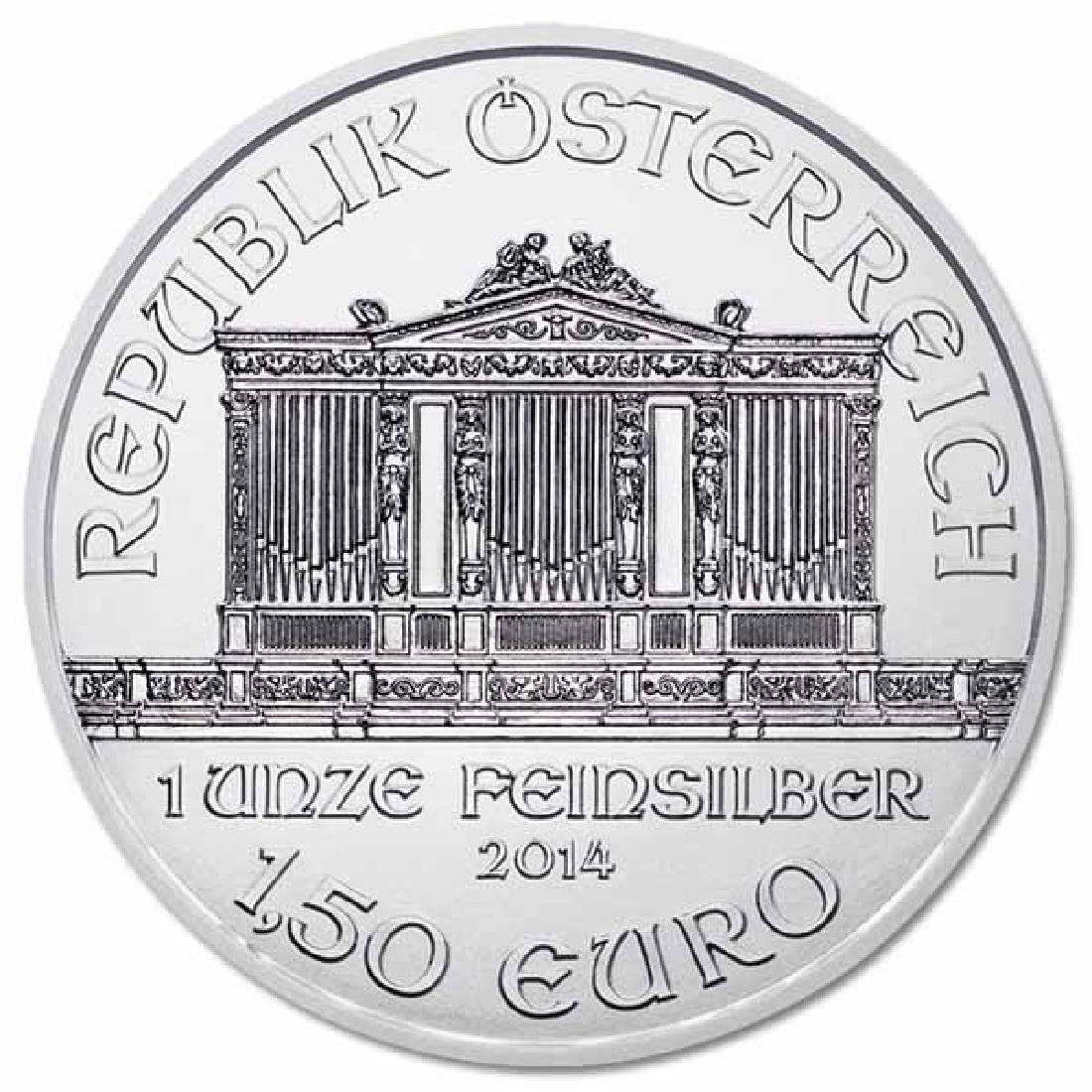 Austrian Philharmonic Silver One Ounce 2014