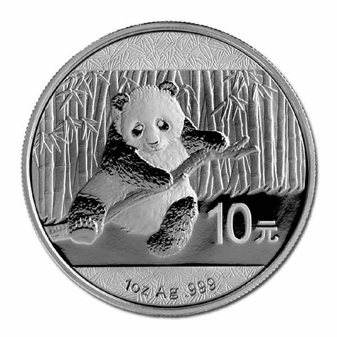 2014 Chinese Silver Panda 1 oz