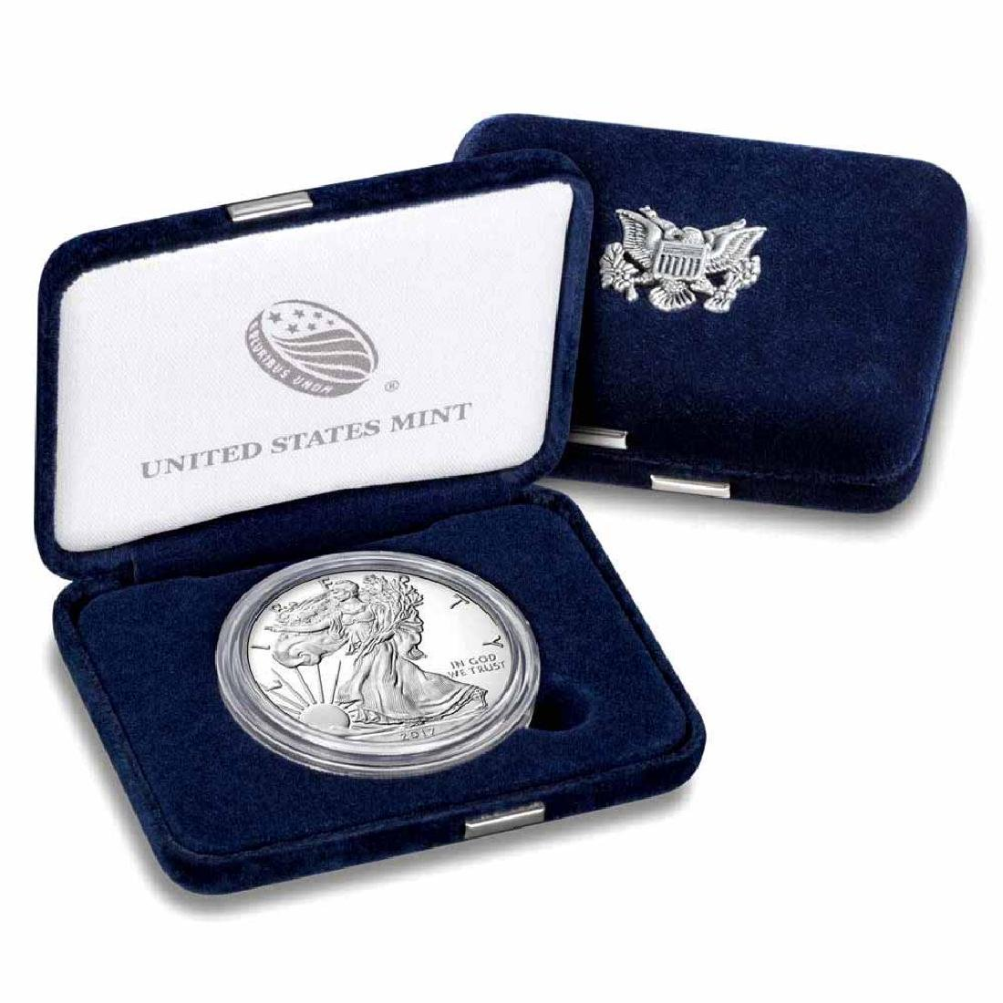 Proof Silver Eagle 2017-W