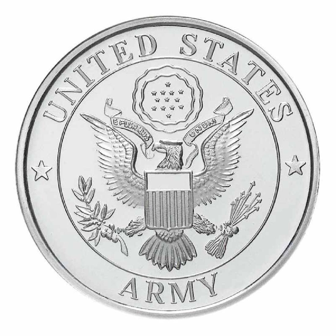 US Army .999 Silver 1 oz Round