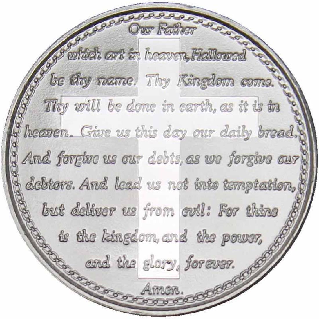 Lords Prayer .999 Silver 1 oz Round