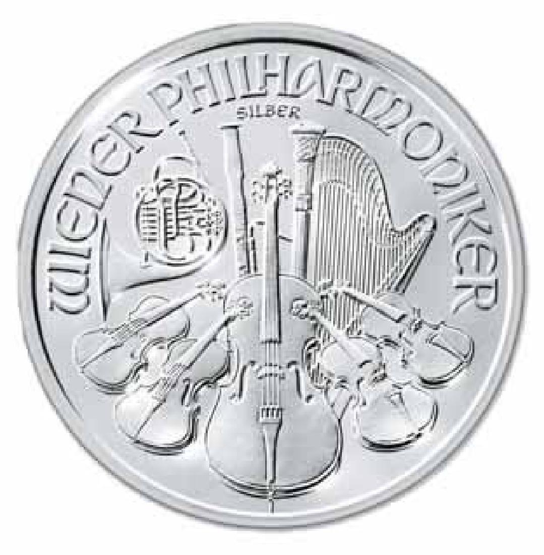 Austrian Philharmonic Silver One Ounce 2008