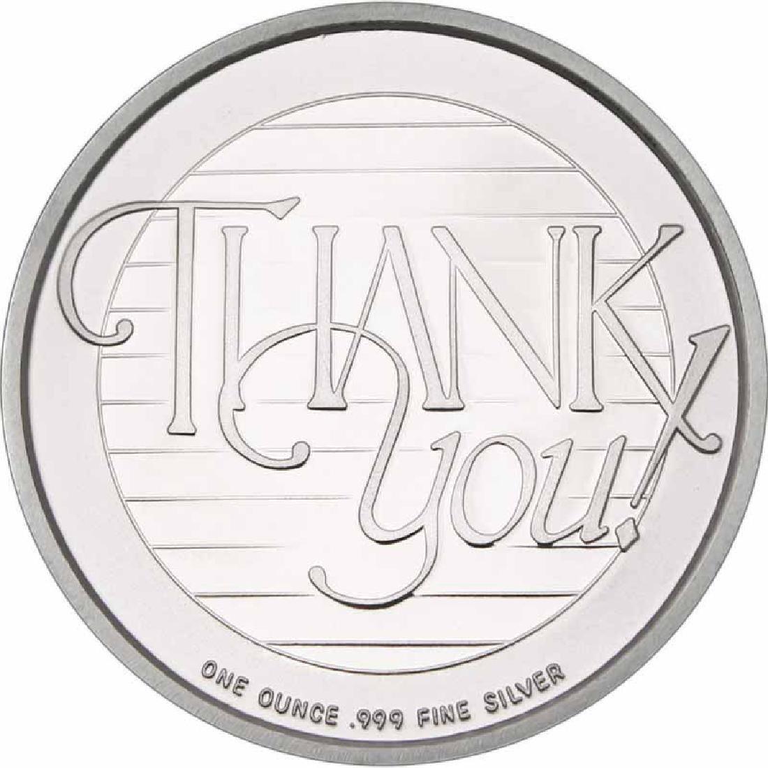 Thank You 2016 .999 Silver 1 oz Round