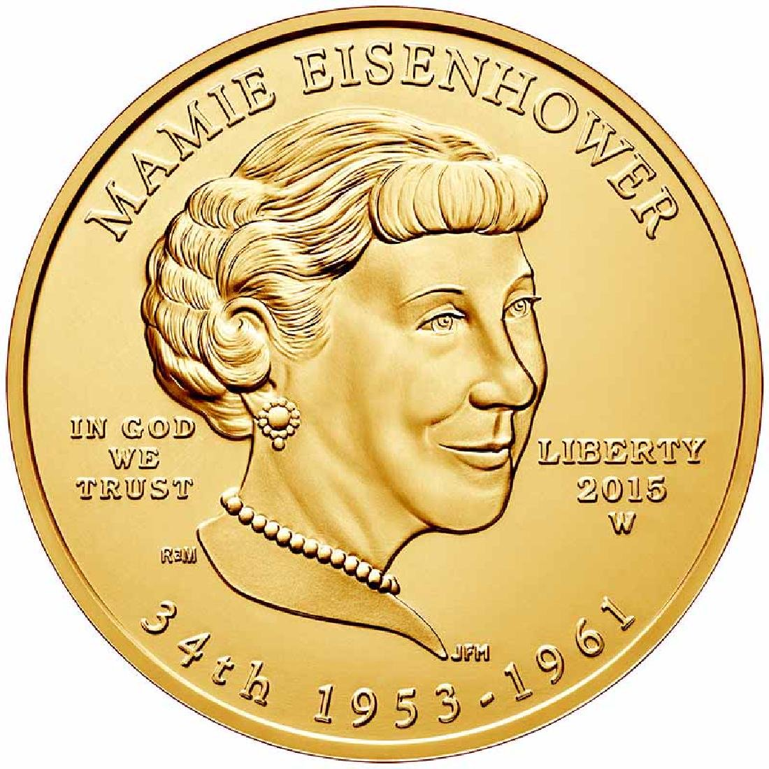 First Spouse 2015 Mamie Eisenhower Uncirculated