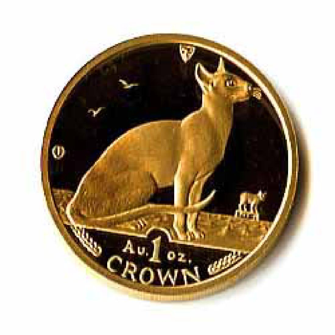 Isle of Man Gold Cat 1 Ounce 1992